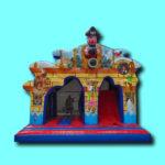 Springkussen Piraat 3D met disco geluid